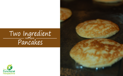 Super easy grain-free banana pancakes