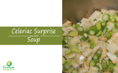 Celeriac Surprise Soup