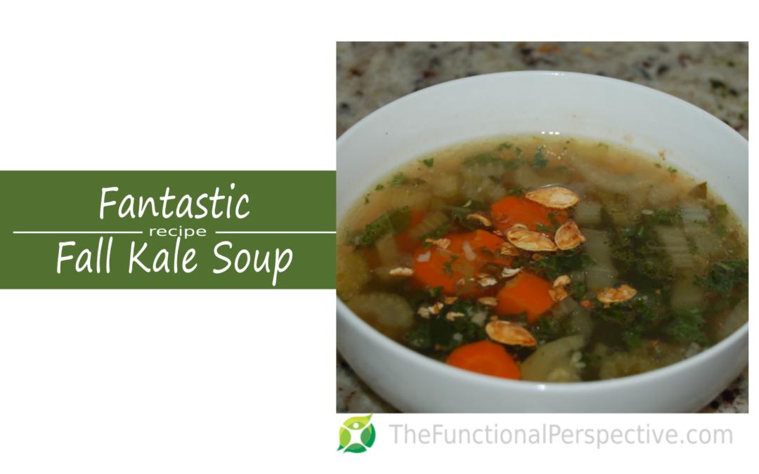 Fantastic Kale & Veggie Soup