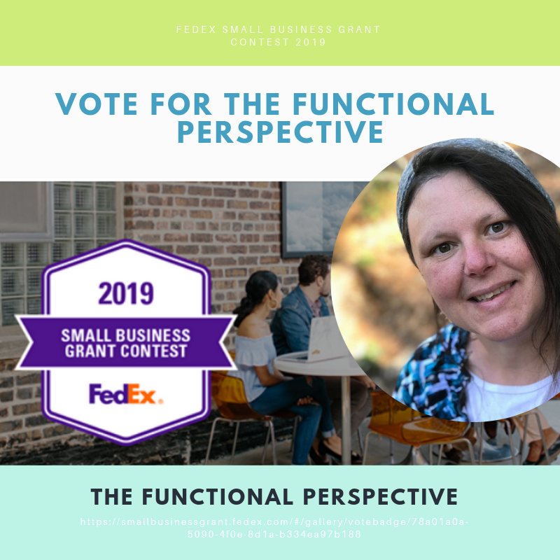 Vote for Salena in the 2019 Fed Ex Contest | The Functional